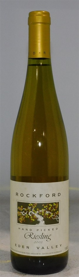 Rockford `Hand Picked` Riesling 2002 (1x 750mL), Eden Valley