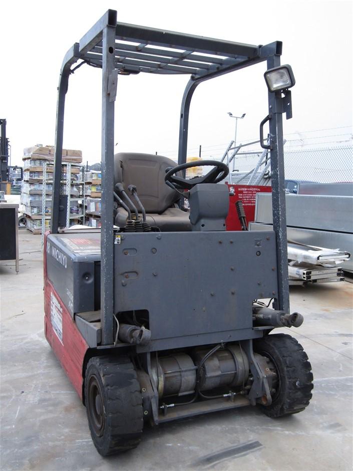 Nichiyu FBT18PN Counterbalance Forklift