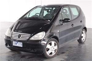 2001 Mercedes Benz A190 Avantgarde W168