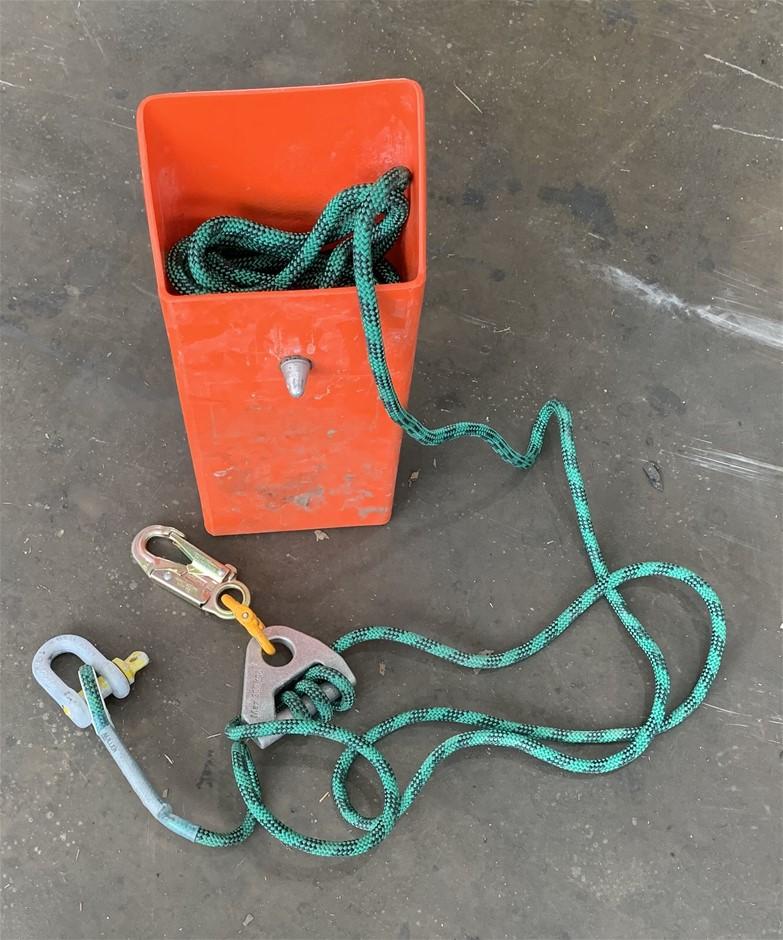 Miller Em-20 Escape Master Kit - Load Density Polyethylene Rope