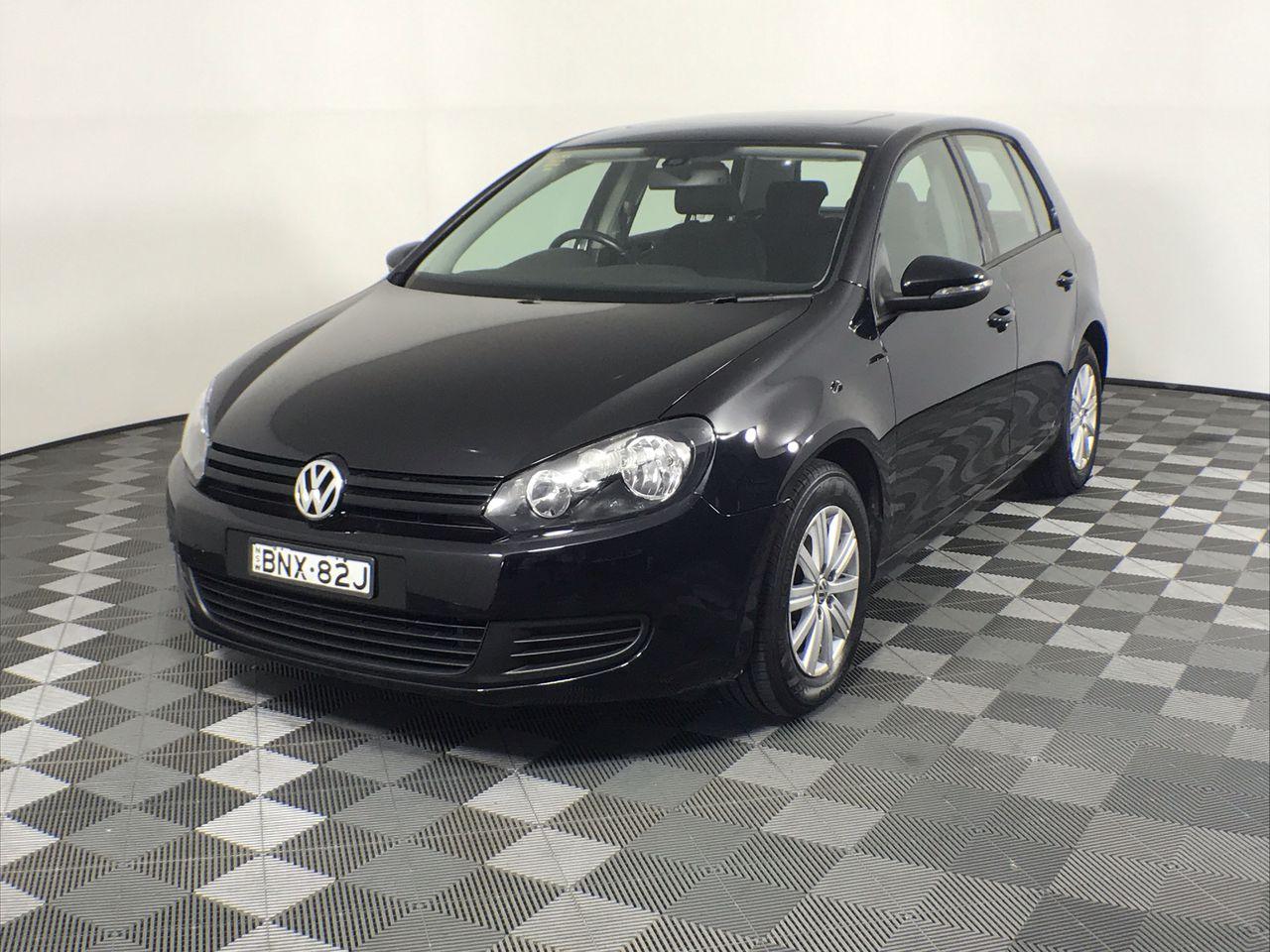 2010 Volkswagen Golf 90TSI Trendline A6 Automatic Hatchback