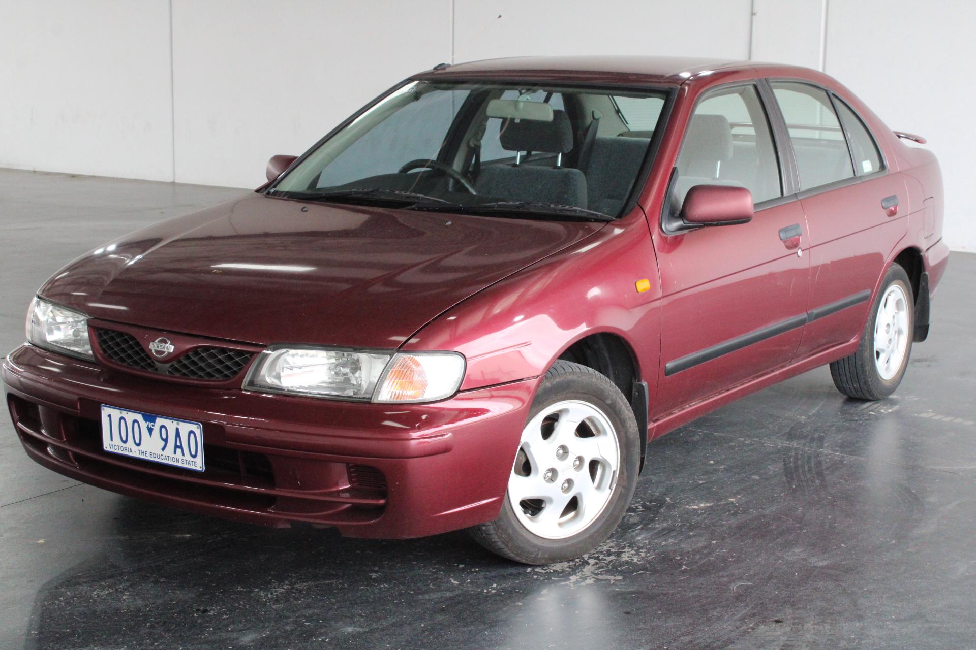 1999 Nissan Pulsar LX N15 Manual Sedan