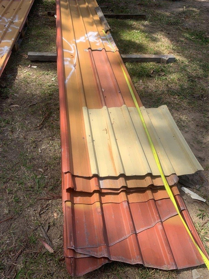 Assorted Corrugated Iron Sheets