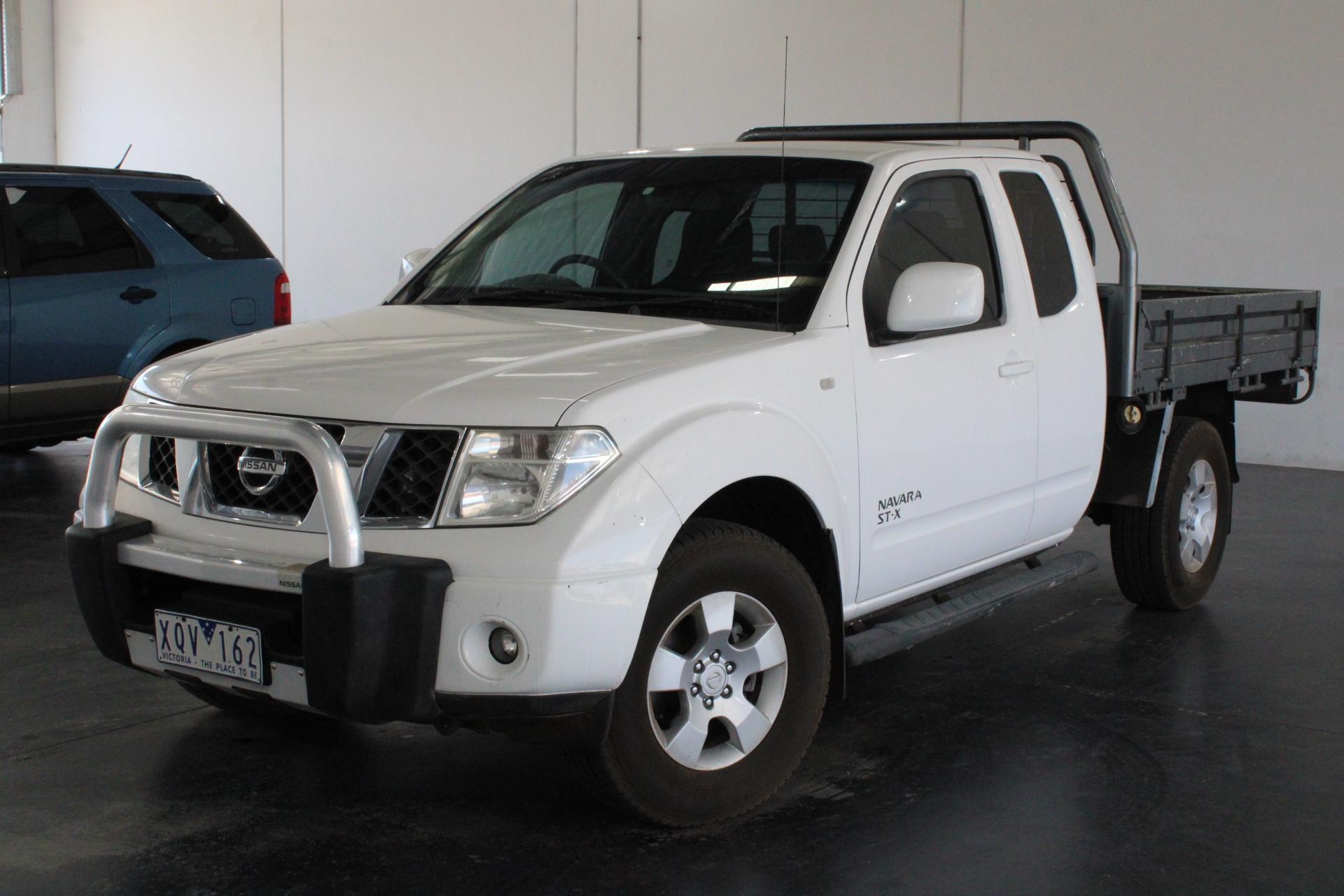 2010 Nissan Navara ST-X (4x4) D40 Turbo Diesel Automatic Ute