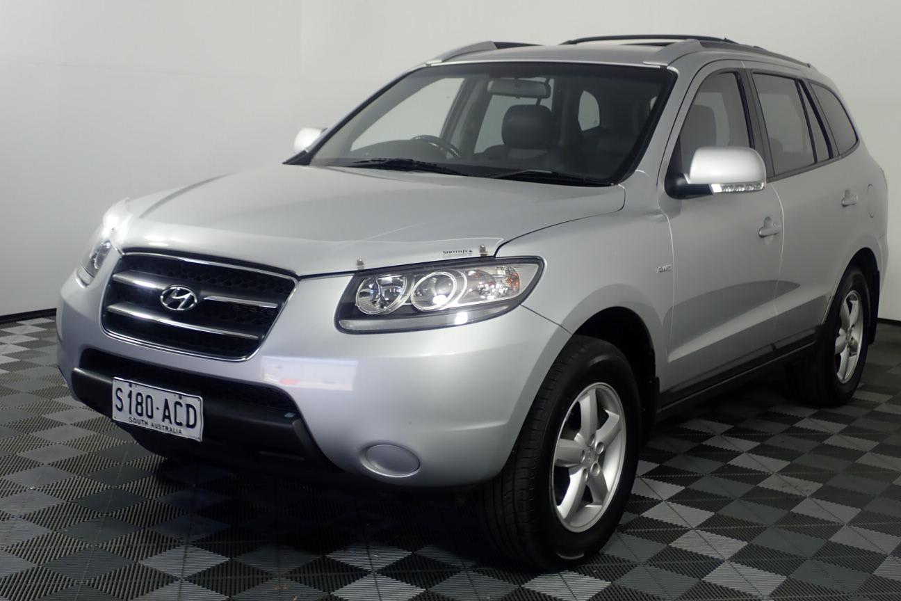 2009 Hyundai Santa Fe SX CRDi (4x4) CM Turbo Diesel Automatic Wagon