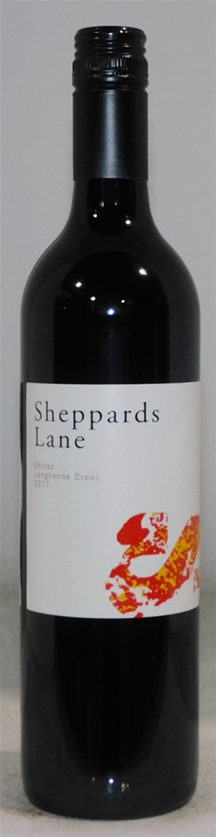 Sheppards Lane Shiraz 2017 (12 x 750mL) Langhorne Creek, SA