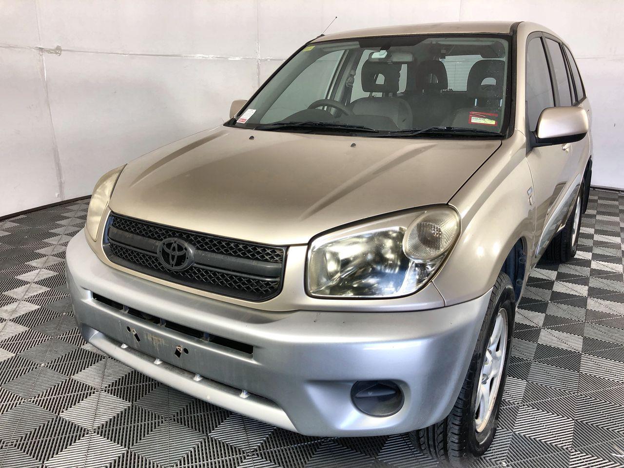 2005 Toyota Rav 4 CV (4x4) ACA23R Wagon 147,823km