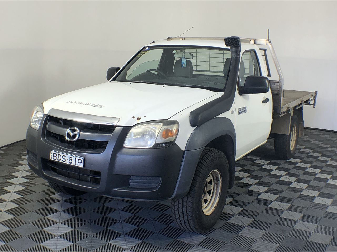 2007 Mazda BT-50 DX B3000 Turbo Diesel Manual Cab Chassis