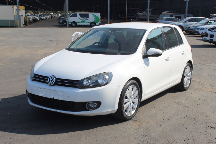 2009 Volkswagen Golf 118TSI Comfortline A6 Automatic Hatchback