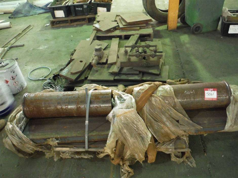 3 x Pallets Assorted Steel Offcuts