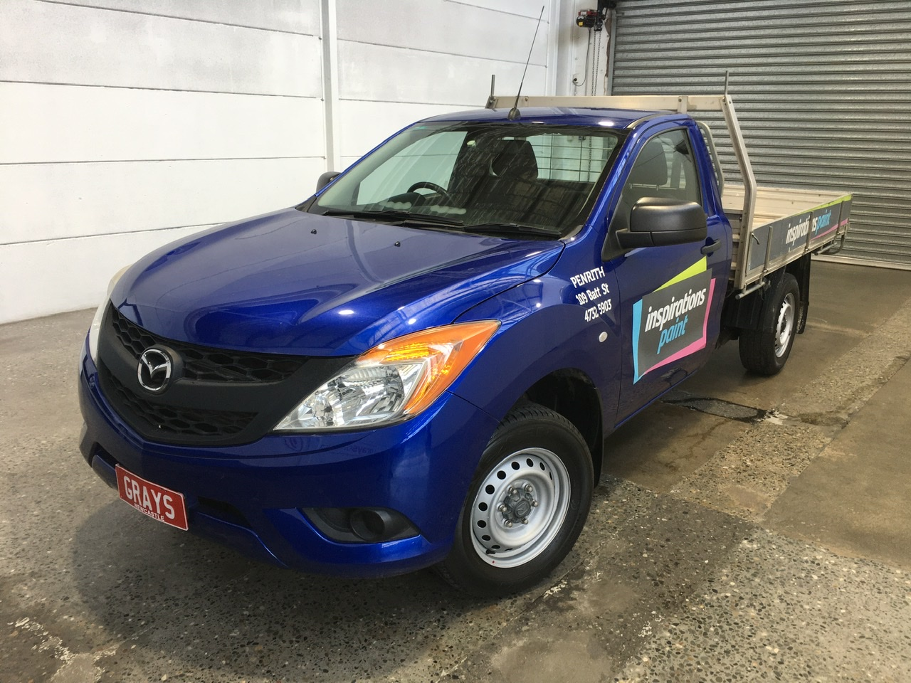 2015 Mazda BT-50 4X2 XT Turbo Diesel Manual Cab Chassis