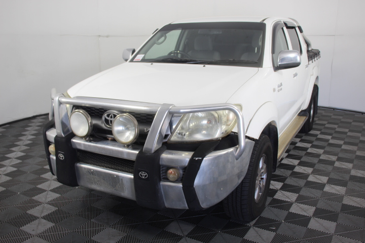 2010 Toyota Hilux SR5 (4x4) GGN25R Manual Dual Cab