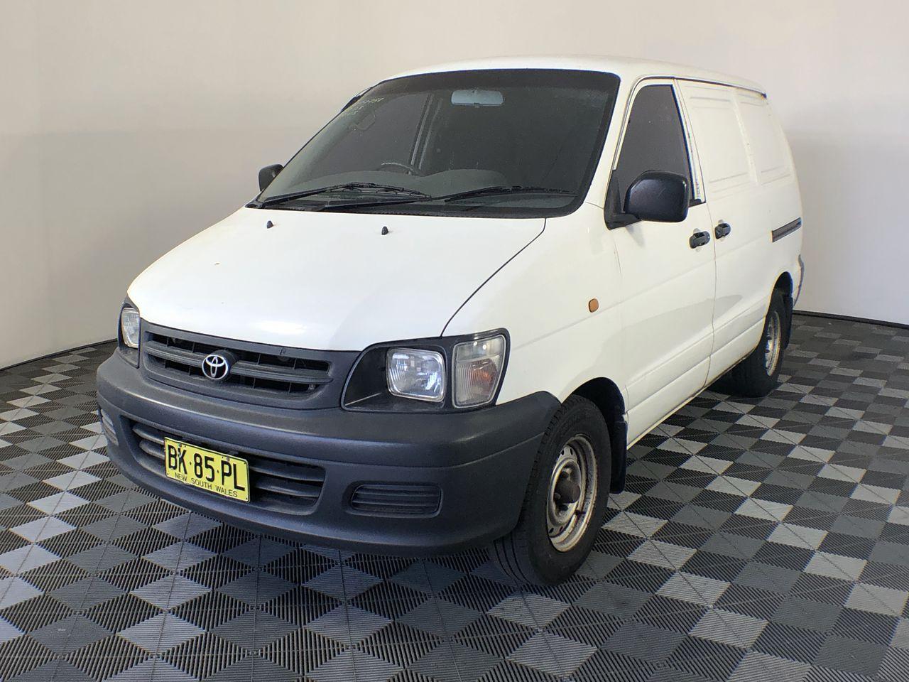 2000 Toyota Townace SBV KR42R Manual Van