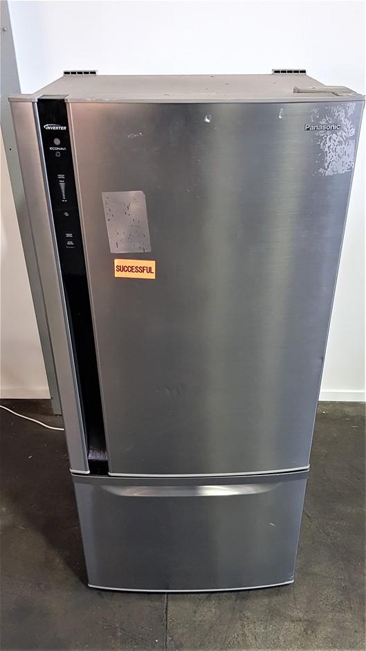Panasonic NR-BY552XSAU 554L Stainless Steel Bottom Mount Refrigerator