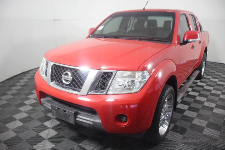 2012 Nissan Navara 4X4 ST D40 Turbo Diesel Manual Dual Cab