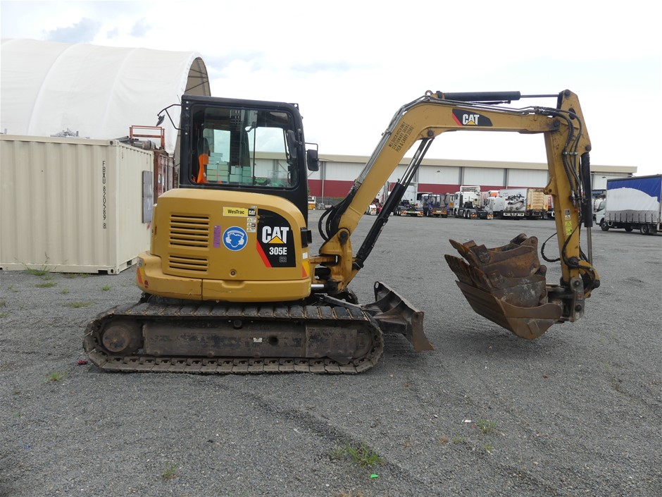 Caterpillar 305E CR Hydraulic Tracks Excavator
