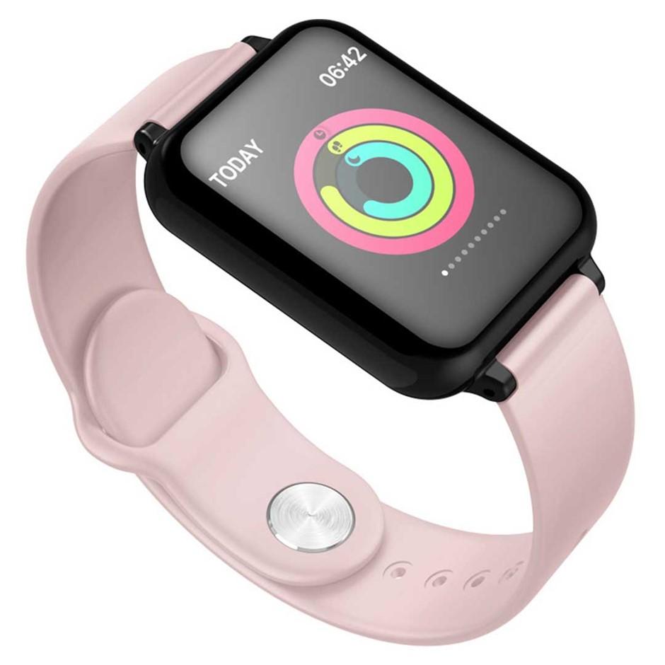 SOGA Waterproof Fitness Smart Wrist Watch Heart Rate Monitor Tracker Pink