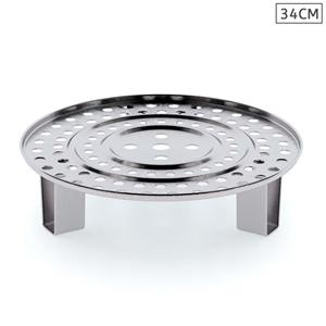 SOGA 34cm Stainless Steel Steamer Insert