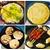 SOGA 2x Cast Iron 35cm Frying Pan Skillet Non-stick Coating Steak Sizzle