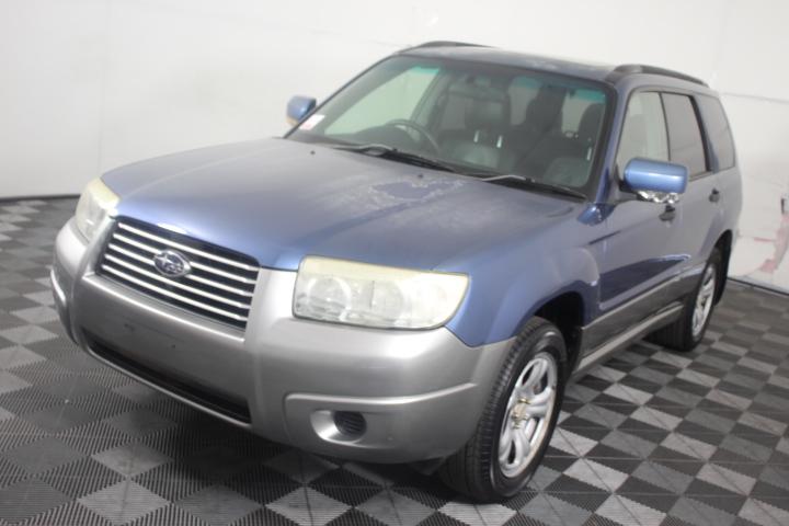 2006 (2007) Subaru Forester X Wagon