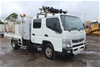 01/2012 Mitsubishi Canter Fuso 918 4 x 2 Crew Cab T/Diesel 5sp 7 Seater