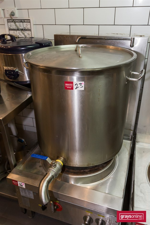 Stainless Steel Large Stock Pot