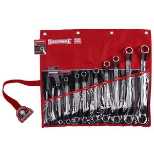 SIDCHROME 11pc Metric Ring Spanner Set,