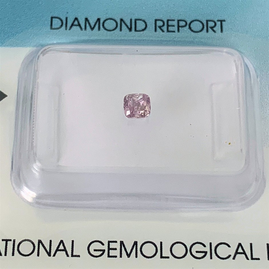 One Security Sealed IGI Diamond, 0.20ct in Total