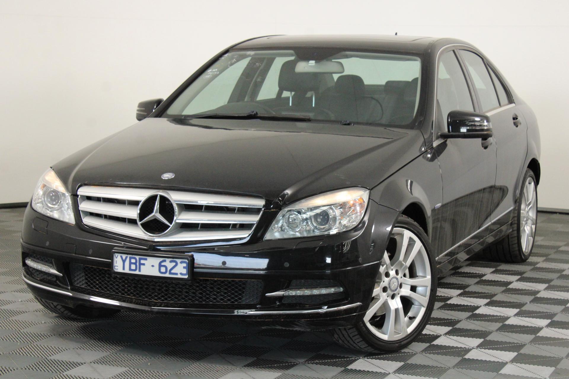 2010 Mercedes Benz C250 BE Avantgarde W204 Automatic Sedan