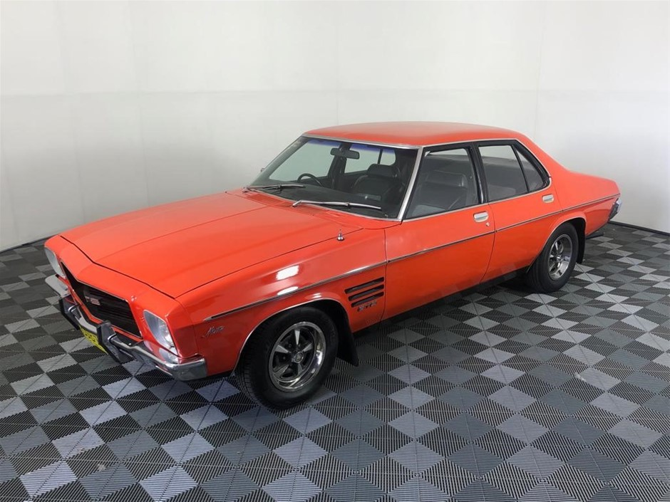 Original HQ Holden Monaro GTS, Factory Tangerine, Matching No. 308 Engine