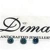 Three Stones Blue Diamond 0.20ct in Total