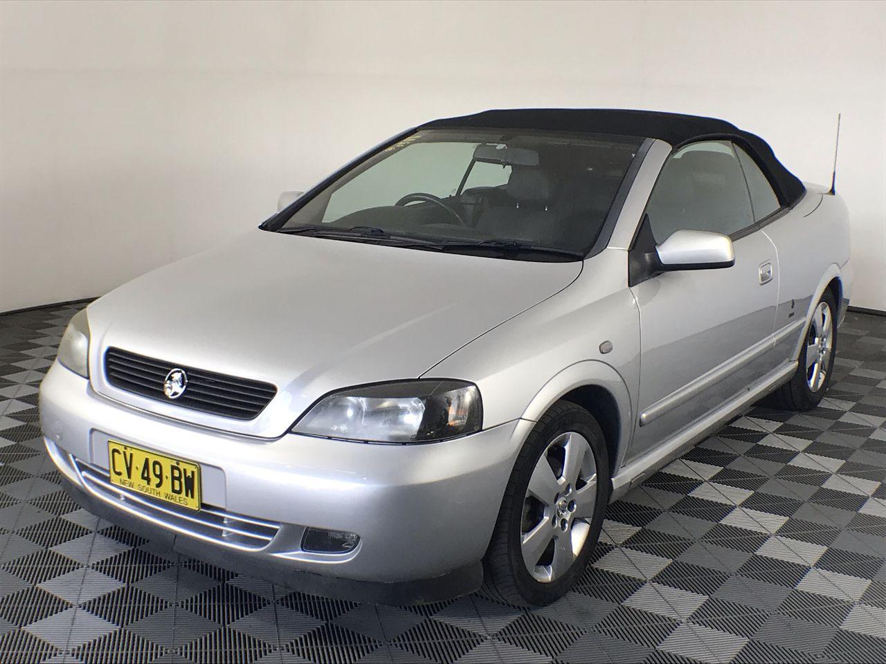 2005 Holden Astra Convertible Bertone Edition TS Automatic Convertible