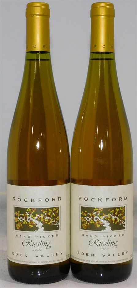 Rockford `Hand Picked` Riesling 2002 (2x 750mL), Eden Valley. SA