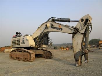 Terex & Liebherr Excavators