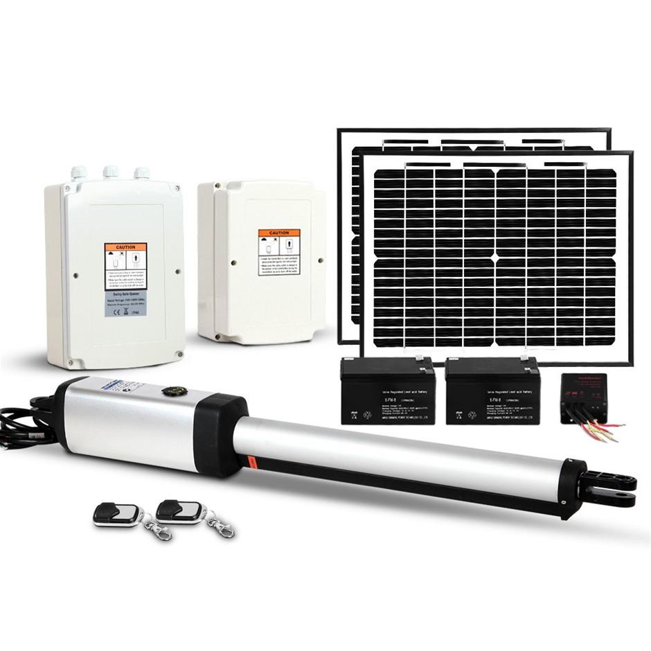 LockMaster 600KG Swing Gate Opener Auto Solar Power Electric Kit