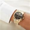 Never worn Michael Kors dual time chronograph watch