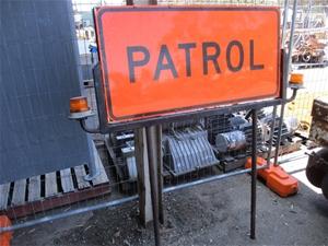 Patrol Truck Sign