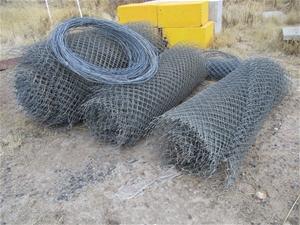 3 x Rolls Chain Mesh Fencing