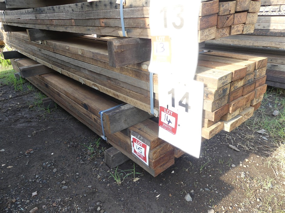 Qty 24 x Mixed Australian Hardwood
