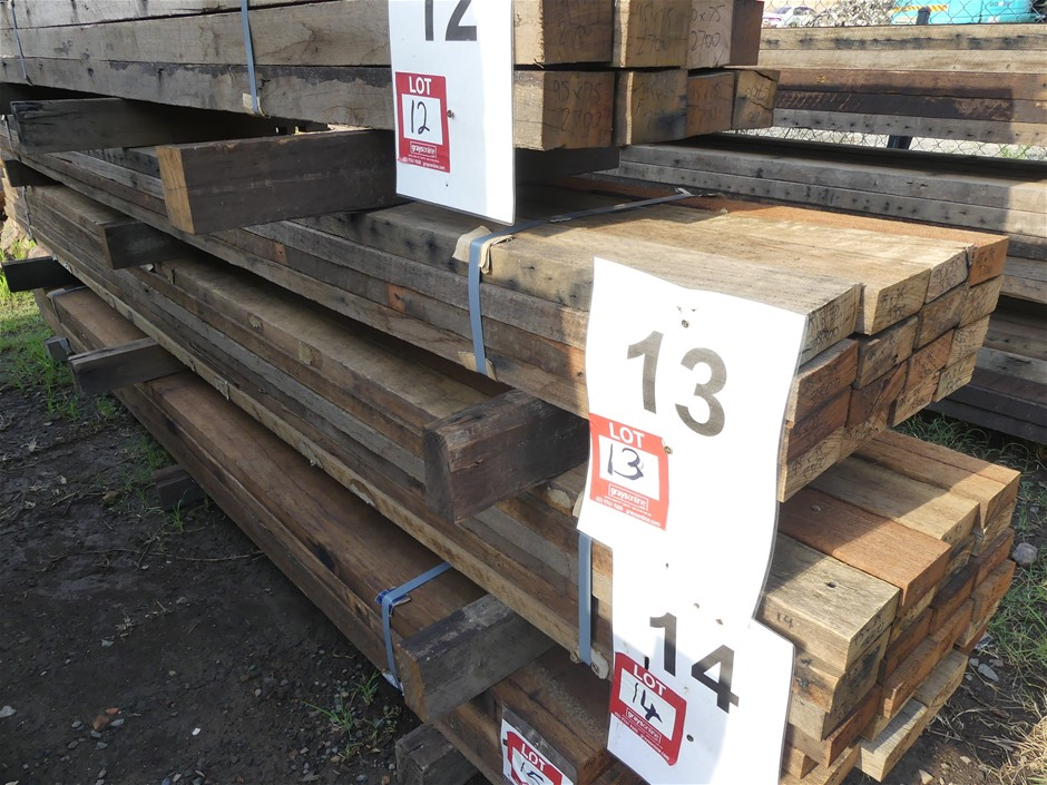 Qty 16 x Mixed Australian Hardwood