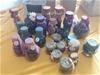 31 x Potpourri Glass Jars (Large & Small)
