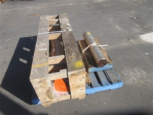 Pallet of 2 Unused Heavy Duty Pins