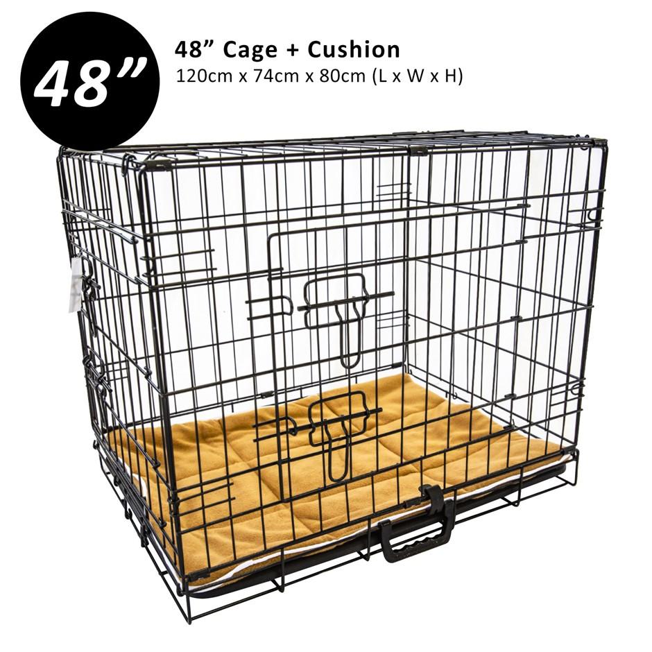 """48"""" Cage + Pad"""
