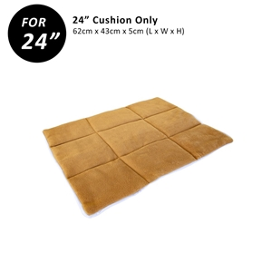 """24"""" Cushion for Wire Dog Cage - BEIGE"""