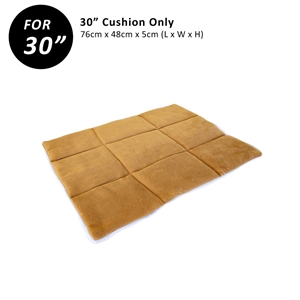 """30"""" Cushion for Wire Dog Cage - BEIGE"""