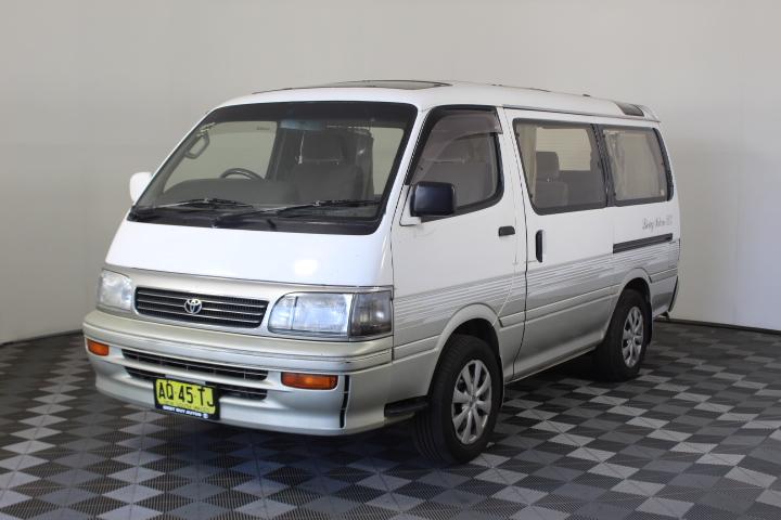 Toyota Hiace Automatic 8 Seats Van