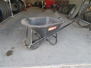 Wheel Barrow with PVC Tub