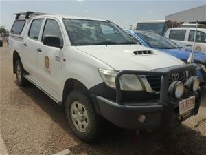 2012 Toyota Hilux SR 4WD Automatic Dual