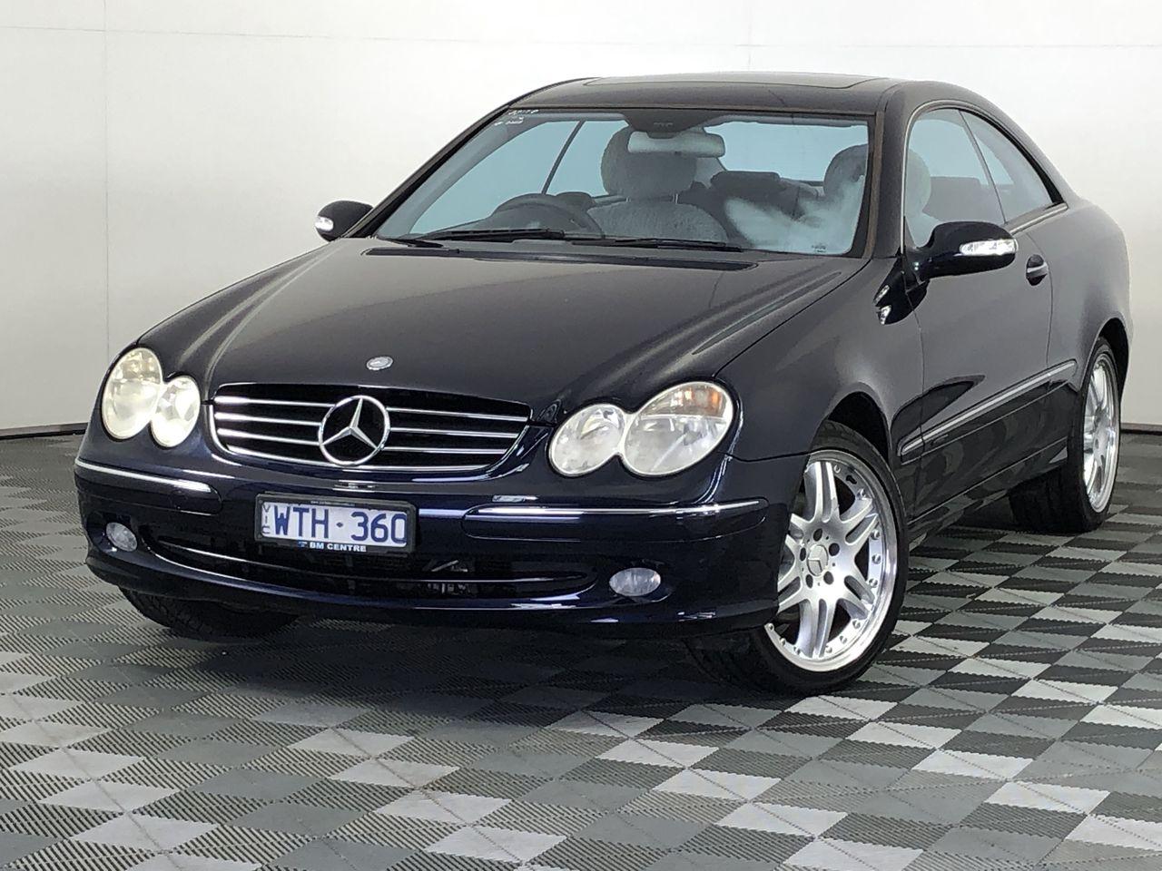 2002 Mercedes Benz CLK320 Avantgarde C209 Automatic Coupe