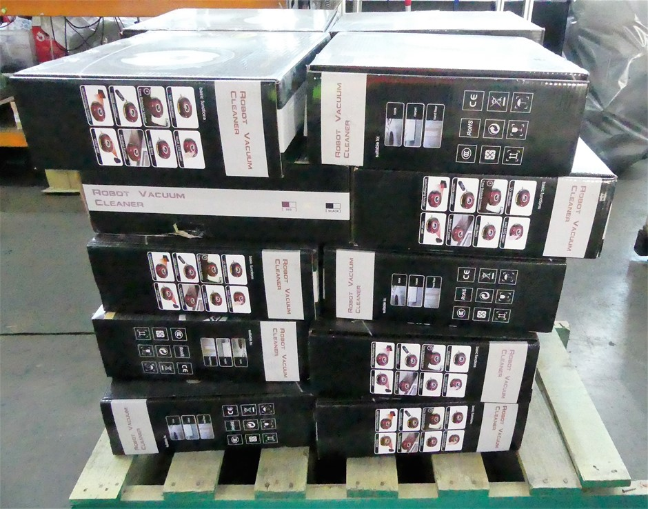 Pallet of 20 x Robot Vacuum Cleaners
